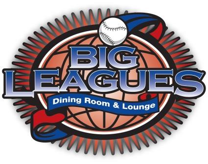 big leagues menu logotype