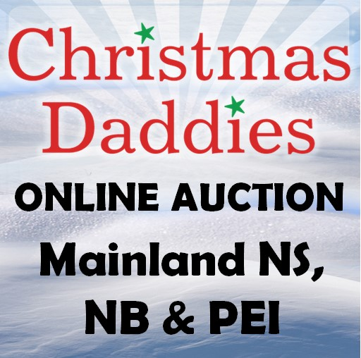 Christmas Daddies Online Auction for Mainland NS, NB & PEI